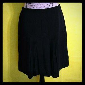 Worthington Works Black Pleated Skirt!